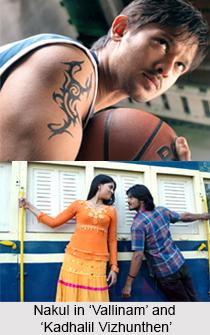 Nakul, Tamil Film Actor