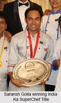 Saransh Goila, Indian Chef