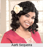 Aarti Sequeira, Indian Chef
