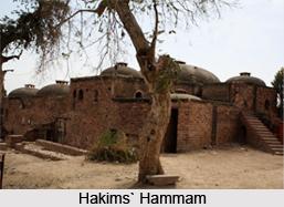 Hakims' Hammam, Fatehpur Sikri