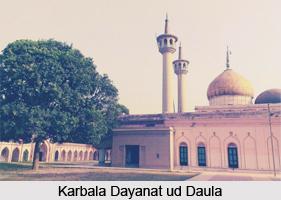 Karbala Dayanat ud Daula, Monuments of Lucknow