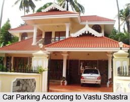 Parking, Vastu Shastra