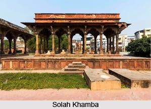 Solah Khamba, Monuments of Lucknow