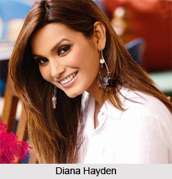 Diana Hayden, Indian Model