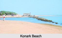 Konark Beach, Puri District, Odisha