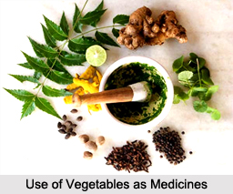 Use of Vegetables or Plants as Medicines