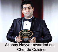 Akshay Nayyar, Indian Chef