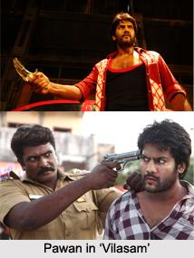 Pawan, Tamil Film Actor
