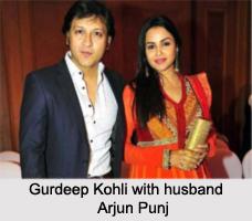 Gurdeep Kohli, Indian Television Actress