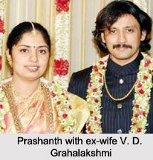 Prashanth, Indian Film Actor