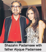 Shazahn Padamsee, Indian Actress