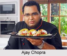 Ajay Chopra, Indian Chef