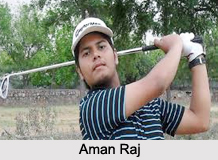 Aman Raj, Indian Golf Player