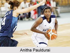 Anitha Pauldurai, Indian Basketball Player