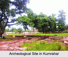Archeological Site in Kumrahar, Patna