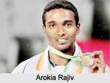Arokia Rajiv, Indian Athlete
