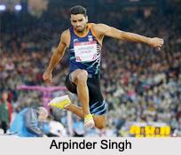 Arpinder Singh, Indian Triple Jumper