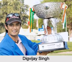 Digvijay Singh, Indian Golf Player