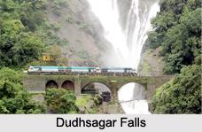 Dudhsagar Falls, Karnataka