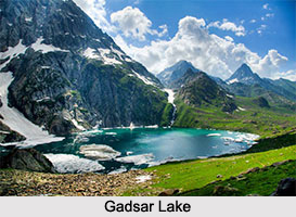 Gadsar Lake, Ganderbal District, Jammu and Kashmir