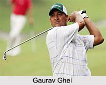 Gaurav Ghei, Indian Golf Player