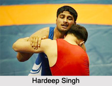 Hardeep Singh, Indian Wrestler