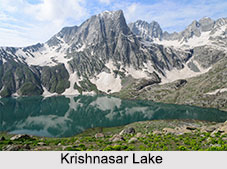 Krishnasar Lake, Sonamarg, Jammu and Kashmir