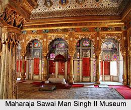 Maharaja Sawai Man Singh II Museum, Jaipur, Rajasthan