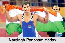 Narsingh Pancham Yadav, Indian Wrestler
