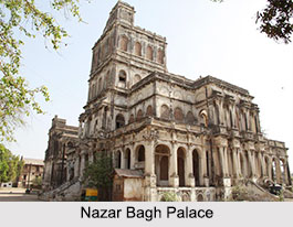 Nazar Bagh Palace, Vadodara, Gujarat