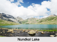 Nundkol Lake, Ganderbal District, Jammu and Kashmir