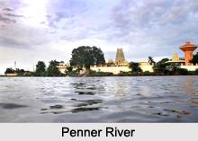 Penner River, Chickballapur District, Karnataka
