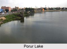 Porur Lake, Chennai, Tamil Nadu