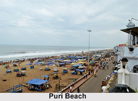 Puri Beach, Puri District, Odisha