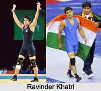 Ravinder Khatri, Indian Wrestler