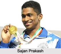 Sajan Prakash, Indian Swimmer