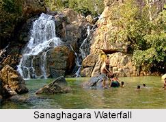 Sanaghagara Waterfall, Kendujhar District, Odisha