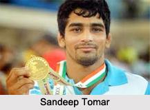 Sandeep Tomar, Indian Wrestler