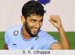 Sannuvanda Kushalappa Uthappa, Indian Hockey Player