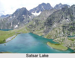 Satsar Lake, Ganderbal District, Jammu and Kashmir