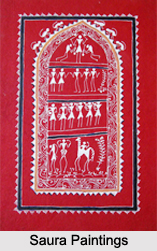 Saura Paintings, Orissa