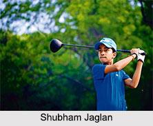 Shubham Jaglan, Indian Golf Player