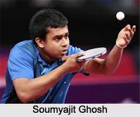 Soumyajit Ghosh, Indian Table Tennis Player