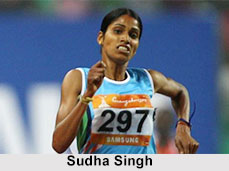 Sudha Singh, Indian Athlete