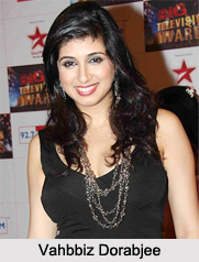 Vahbbiz Dorabjee, Indian Television Actress
