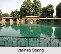 Verinag Spring, Jammu and Kashmir