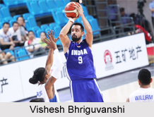 Vishesh Bhriguvanshi, Indian Basketball Player