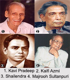 Bollywood Lyricists, Indian Cinema