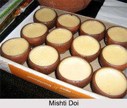 Mishti Doi, Indian Sweet