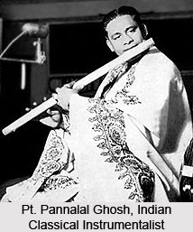 Pt. Pannalal Ghosh, Indian Classical Instrumentalist